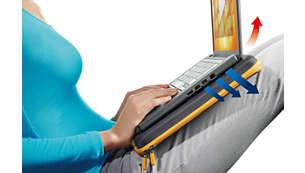 Superficie rígida para la computadora portátil