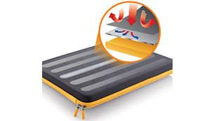 HeatProtect per evitare surriscaldamenti
