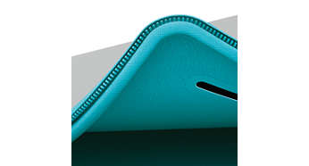 Materiál s podšívkou z jemnej tkaniny