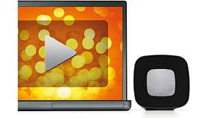Geniet van muziek, games, films en onlinevideo's