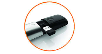 Storable nano dongle