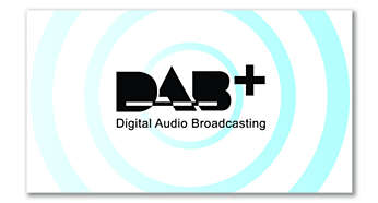 Radio DAB+ con audio nitido e senza interferenze