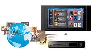 Genießen Sie mit BD-Live* (Profil2.0) Blu-ray-Bonusmaterial im Internet