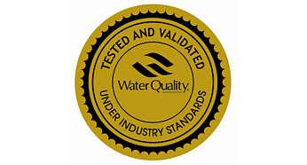WQA 針對最佳效能所頒發的三項金標章