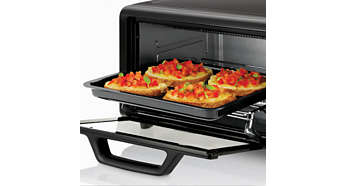 Large baking tray for cooking different foods