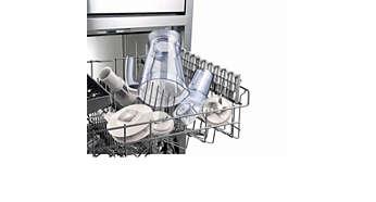 분리 가능한 모든 부품은 식기세척기 사용 가능
