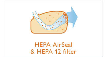 EPA AirSeal und EPA-12-Filter