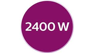 2400W para un calentamiento rápido