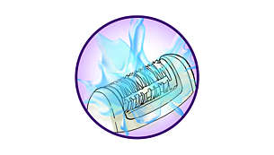 Моющаяся головка для обеспечения идеальной гигиены