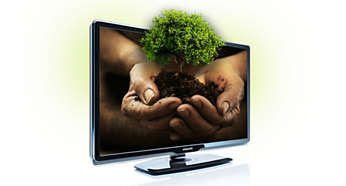 40% more energy efficient than conventional Flat TVs