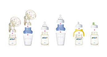 All Avent teat and spouts can be used