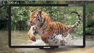 Pixel Precise HD med lysdioder för extrem skärpa och klarhet