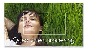 Procesamiento de vídeo Qdeo™ para ver las películas en todo su esplendor