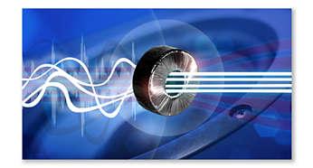 Oddzielny zasilacz toroidalny pozwalający uzyskać czysty dźwięk bez szumów