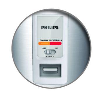 Un bouton tactile pour un contrôle facile