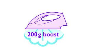 Stoomstoot tot 200 g