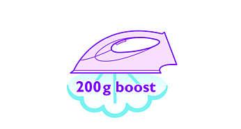 Garų padidinimas iki 200 g