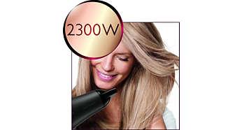 Puissance professionnelle de 2300W pour des résultats exceptionnels