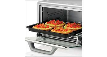 Bandeja para horno grande, ideal para cocinar todo tipo de alimentos
