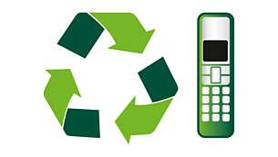 EcoMode: Geringere Übertragungsleistung zwischen Mobilteil und Basisstation