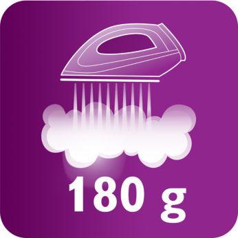Colpo di vapore fino a 180 g