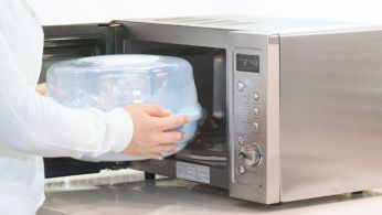 Just add water, load and place in the microwave
