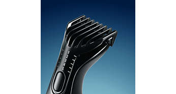 Extra-Sensitive XS trimmer for more safety where needed