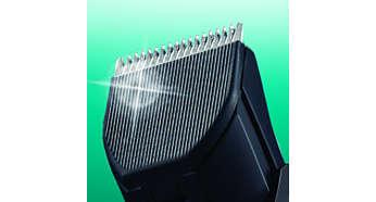 Selbstschärfende SteelWave Klingen für präzise Ergebnisse