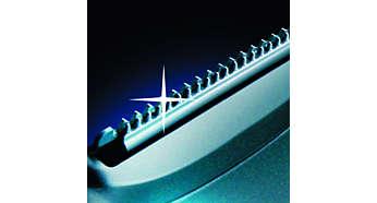 Scherper dan titanium*: geharde mesjes voor een lange levensduur
