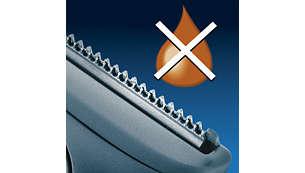 Sharper than Titanium*: hardened steel blades for long life
