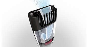 Vacuum-System zum Auffangen abgeschnittener Haare für eine saubere Anwendung