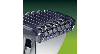 Peigne pour coupe courte, rasant à une longueur de 1,6mm