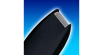 Precisietrimmer voor het maken en onderhouden van de gewenste haarlijnen