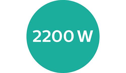 Puissance professionnelle de 2200W pour des résultats impeccables