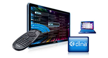 DLNA PC Network link to browse PC and Home network content