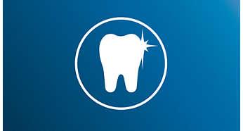 Natuurlijk wittere tanden dankzij gepatenteerde sonische technologie