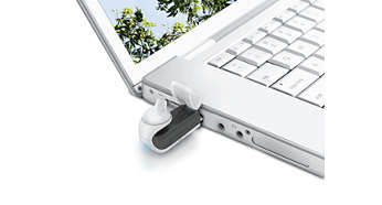 Recharge pratique via le port USB