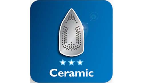 Semelle en céramique pour une meilleure glisse