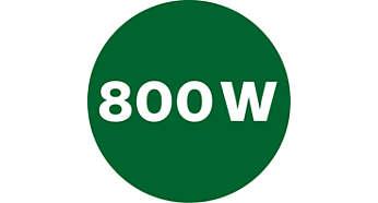 Výkonný 800W motor