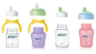 Te gebruiken in combinatie met alle andere producten uit de Philips Avent-serie