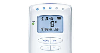 Monitor the temperature in baby's room