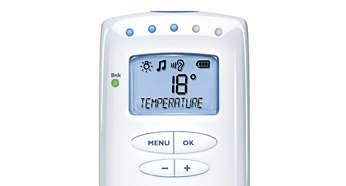 Sledujte teplotu vdětském pokoji