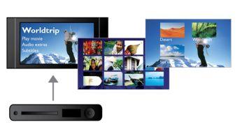 DivX Ultra Certified para uma reprodução aprimorada de vídeos DivX