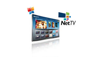 Net TV for popular online services on your TV
