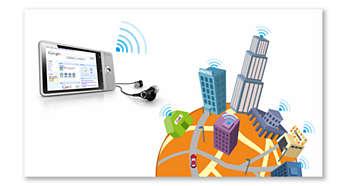 Sijaintitietoja GPS- ja Google Maps -palveluista