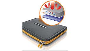 Couches HeatProtect pour éviter l'accumulation de chaleur