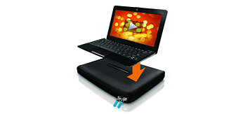 Stable surface to rest your netbook on
