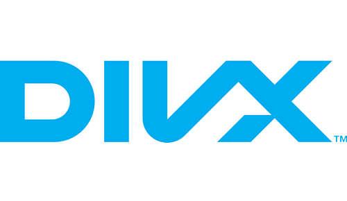 DivX-gecertificeerd voor de standaardweergave van DivX-video's