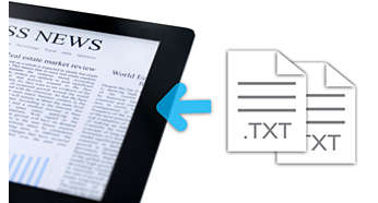 Text reader to view text files