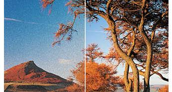 Élesebb nagyfelbontású képek HDMI 1080p minőségben